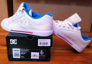 DC Shoes Skater Shoes white