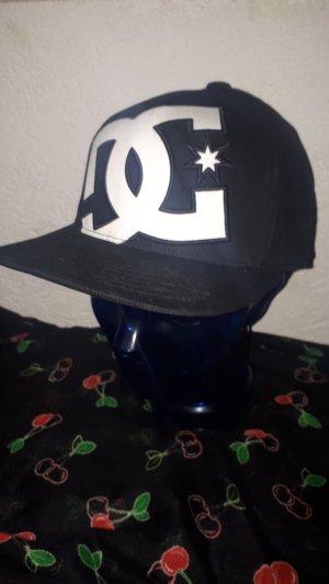DC Shoes Baseballpet wit-zwart