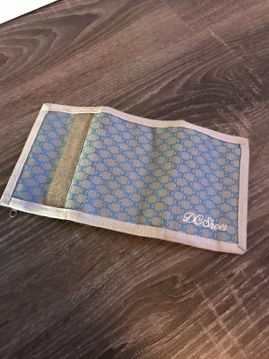 DC Geldbeutel blau grau