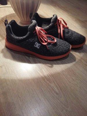 DC Shoes Heathrow grau meliert orange