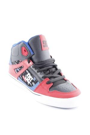 DC Shoes High Top Sneaker Motivdruck Skater-Look