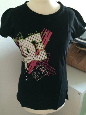 DC Shoes T-Shirt neu L 40 schwarz bunt Logo Hurley Volcom