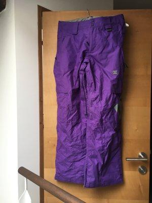 DC Snowboardhose bzw. Skihose lila/violett