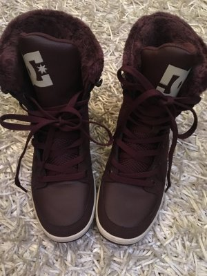 DC Shoes Winter Booties bordeaux-brown red