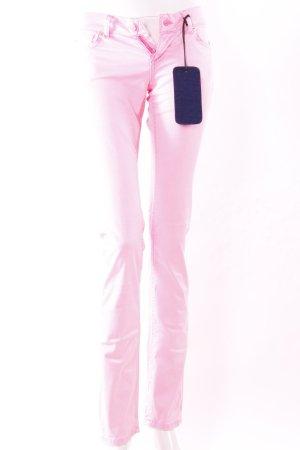 Jeans cigarette rose