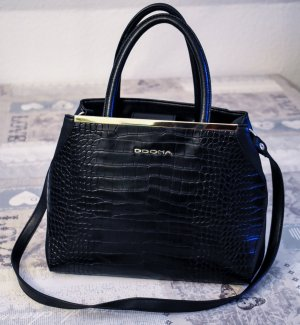 DDONA - Spanische Designer Tasche im Krokostil