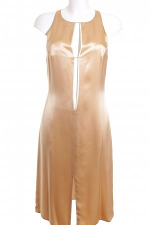 De Call Atelier Abendkleid goldfarben-creme Elegant