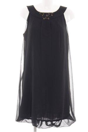 de.corp by Esprit vestido de globo negro look casual