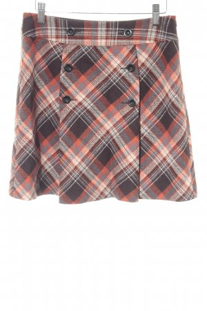 de.corp by Esprit Plaid Skirt glen check pattern retro look
