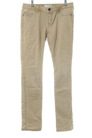 de.corp by Esprit Pantalone cinque tasche color cammello stile stravagante