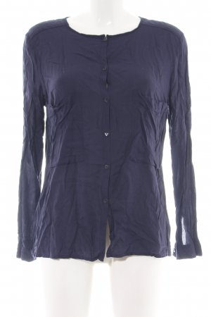de.corp by Esprit Long Sleeve Blouse blue casual look
