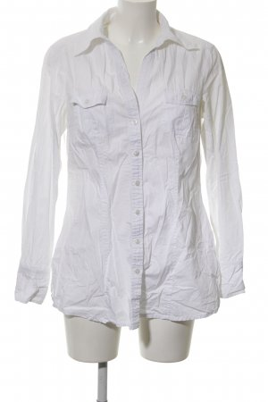 de.corp by Esprit Long Sleeve Shirt white business style