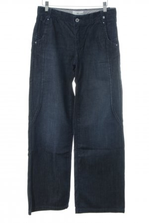 de.corp by Esprit Linen Pants blue casual look