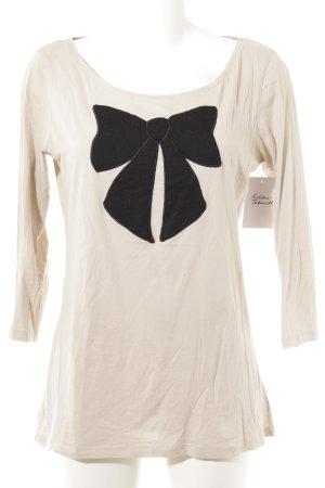 de.corp by Esprit Long Shirt beige-black romantic style