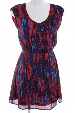 de.corp by Esprit Mini Dress mixed pattern extravagant style