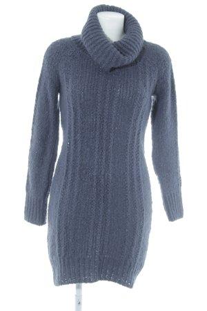 de.corp by Esprit Pulloverkleid dunkelviolett Casual-Look