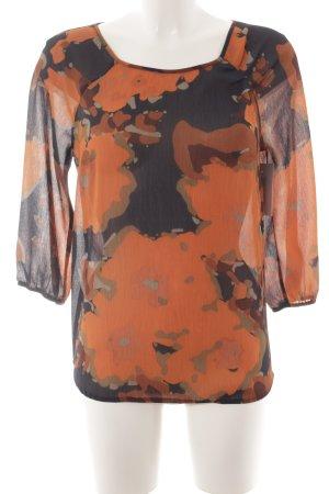 de.corp by Esprit Schlupf-Bluse abstraktes Muster klassischer Stil