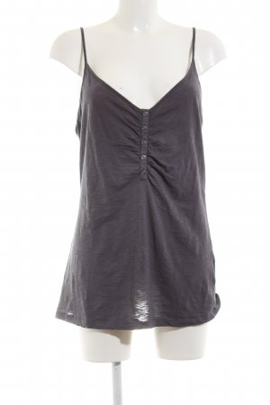 de.corp by Esprit Spaghetti Strap Top light grey flecked casual look