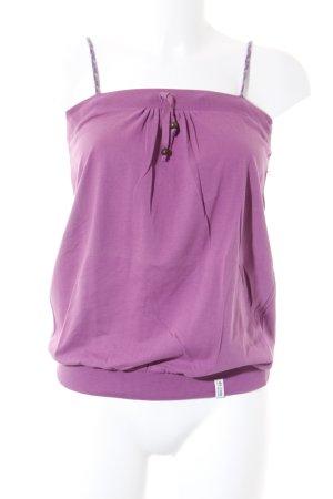 de.corp by Esprit Top con bretelline rosa stile da moda di strada