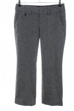 de.corp by Esprit Jersey Pants light grey flecked business style