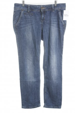 de.corp by Esprit Straight-Leg Jeans blau Casual-Look