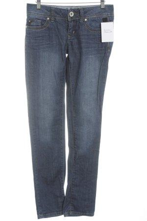 de.corp by Esprit Straight-Leg Jeans stahlblau schlichter Stil
