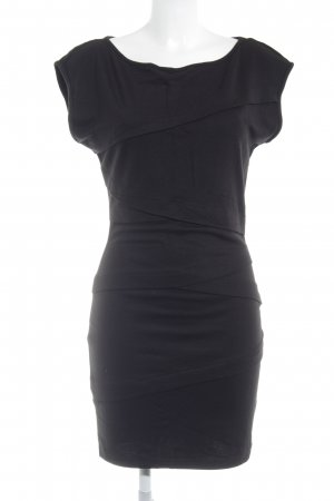 de.corp by Esprit Stretchkleid schwarz Casual-Look