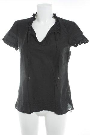 de.corp by Esprit T-Shirt schwarz Boho-Look