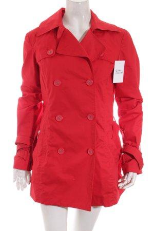 de.corp by Esprit Trenchcoat rot klassischer Stil