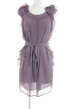 de.corp by Esprit Robe à volants gris lilas style classique