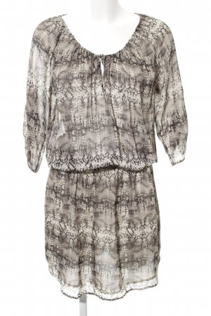 Dea Kudibal Blouse Dress natural white-brown animal pattern casual look