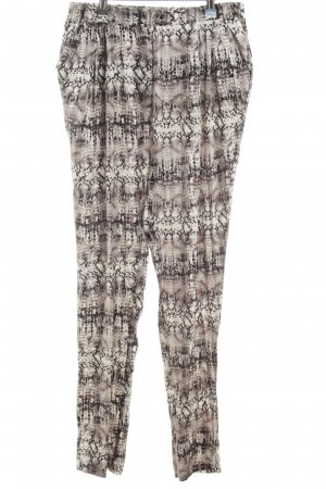 Dea Kudibal Jersey Pants abstract pattern casual look