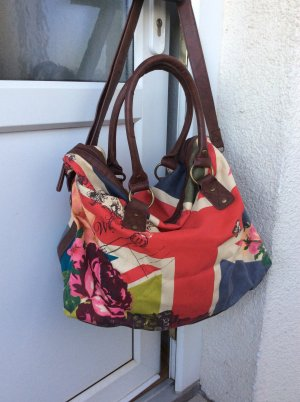 Accessorize Sac Baril multicolore tissu mixte