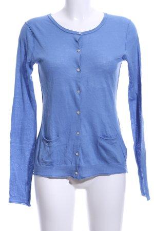 Dear Cashmere Cardigan blue casual look