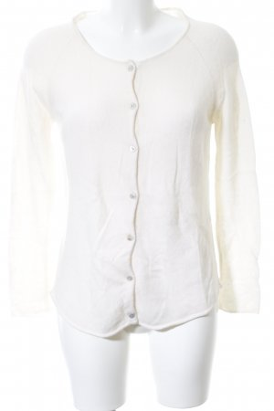 Dear Cashmere Cardigan white casual look