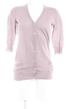 Dear Cashmere Cardigan roségoldfarben Romantik-Look