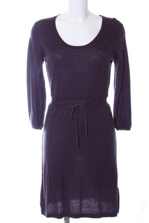 Dear Cashmere Longsleeve Dress dark violet casual look