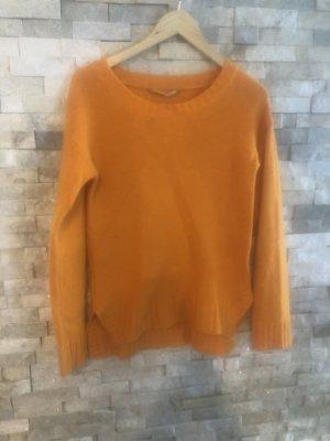 Dear Cashmere Wool Sweater light orange wool
