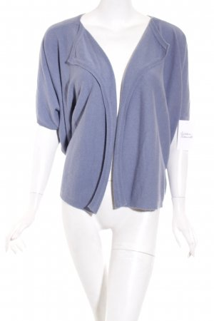 Dear Cashmere Strickjacke blau Casual-Look