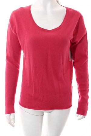 Dear Cashmere Strickpullover magenta Casual-Look