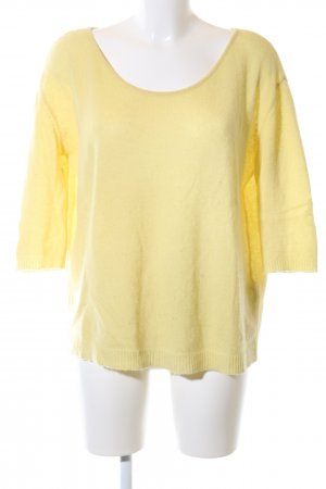 Dear Cashmere Knitted Jumper primrose casual look