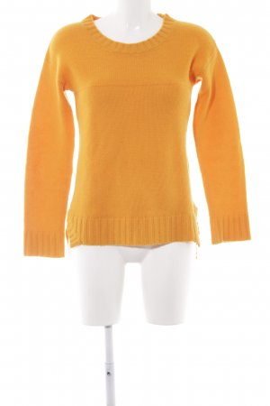 Dear Cashmere Wollpullover orange Casual-Look