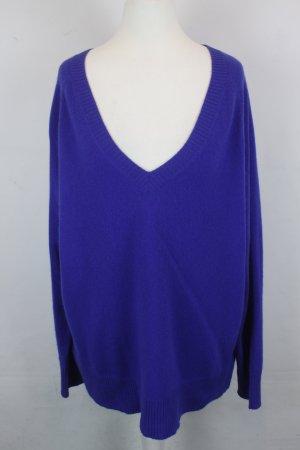 Dear Chasmere Pullover Strickpullover Gr. M blau oversized Kaschmir