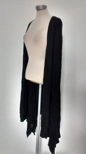 Debenhams Cardigan schwarz Gr. UK 20 EUR 48 Angora Baumwolle neu Luxury
