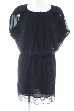 Deby Debo Blusenkleid schwarz Casual-Look