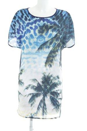 Deby Debo Shirtkleid florales Muster extravaganter Stil