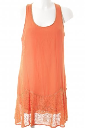 Deby Debo Strandkleid dunkelorange-goldfarben Beach-Look