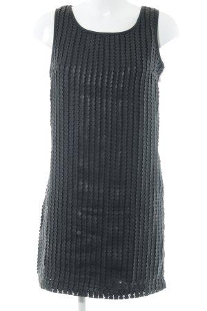 Deby Debo Trägerkleid schwarz Punktemuster extravaganter Stil