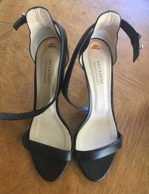 Dianette sandalen zwart