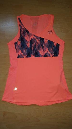 Decathlon Sport Top Orange